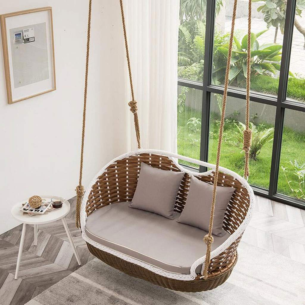 Double-Basket-Rattan-Chair-Indoor-Balcony