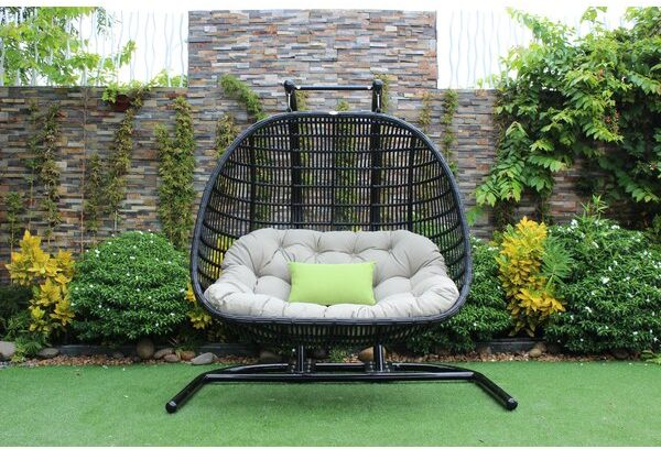 Double Extra Hihg Quality Outdoor Swing Chair