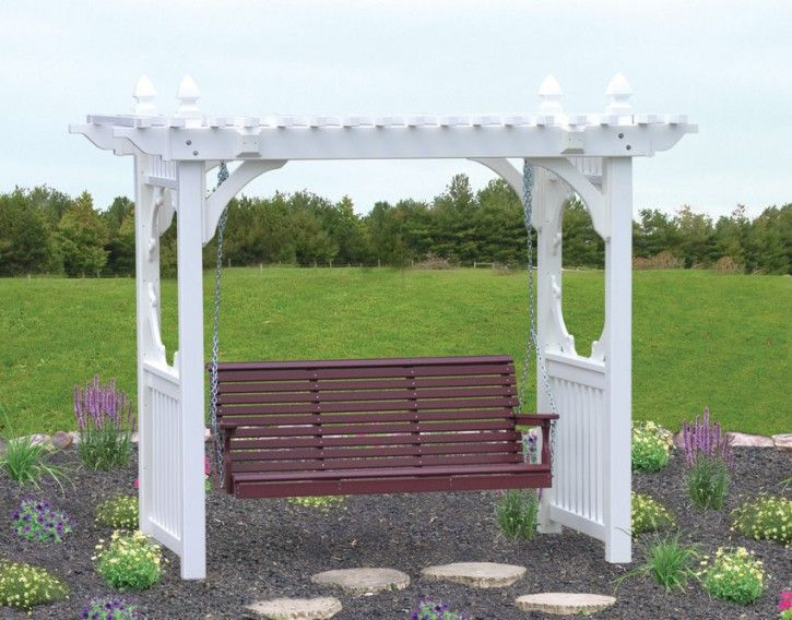 vinyl-plastic-arbor-freestanding -swing-patio