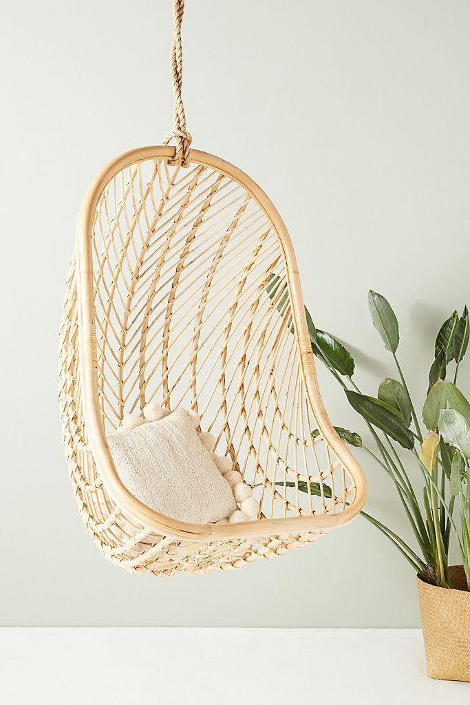 Nest Hanging Chair Basket Rattan Anthropologie