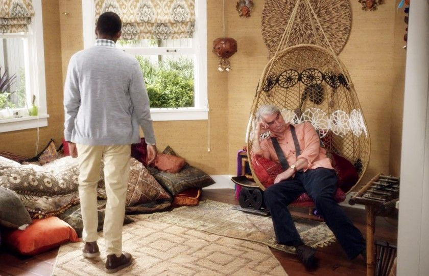grace and frankie hanging chair