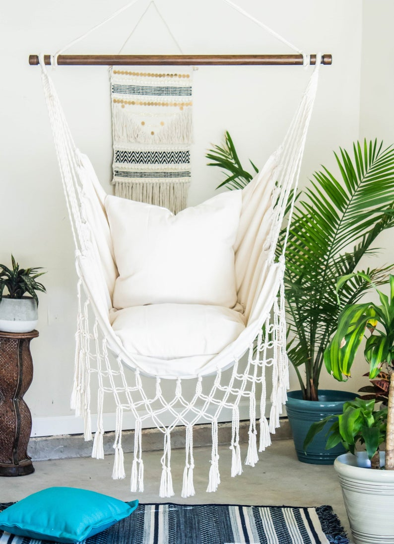 boho-style-indoor-hammock-chair