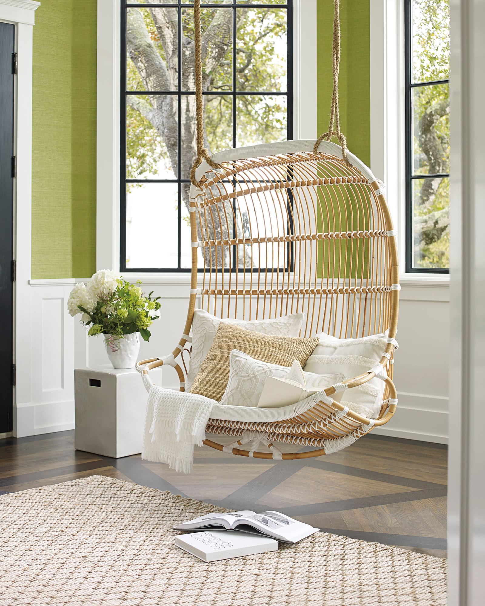 double hanging chair