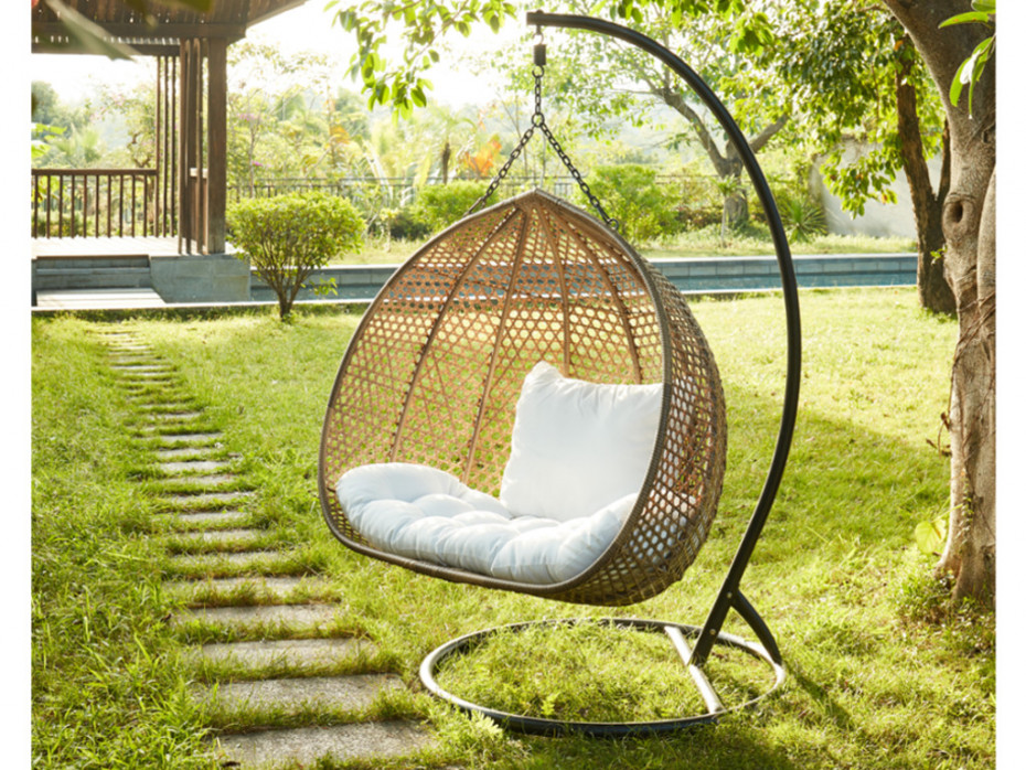 2-persoons-hanging swing-garden-patio