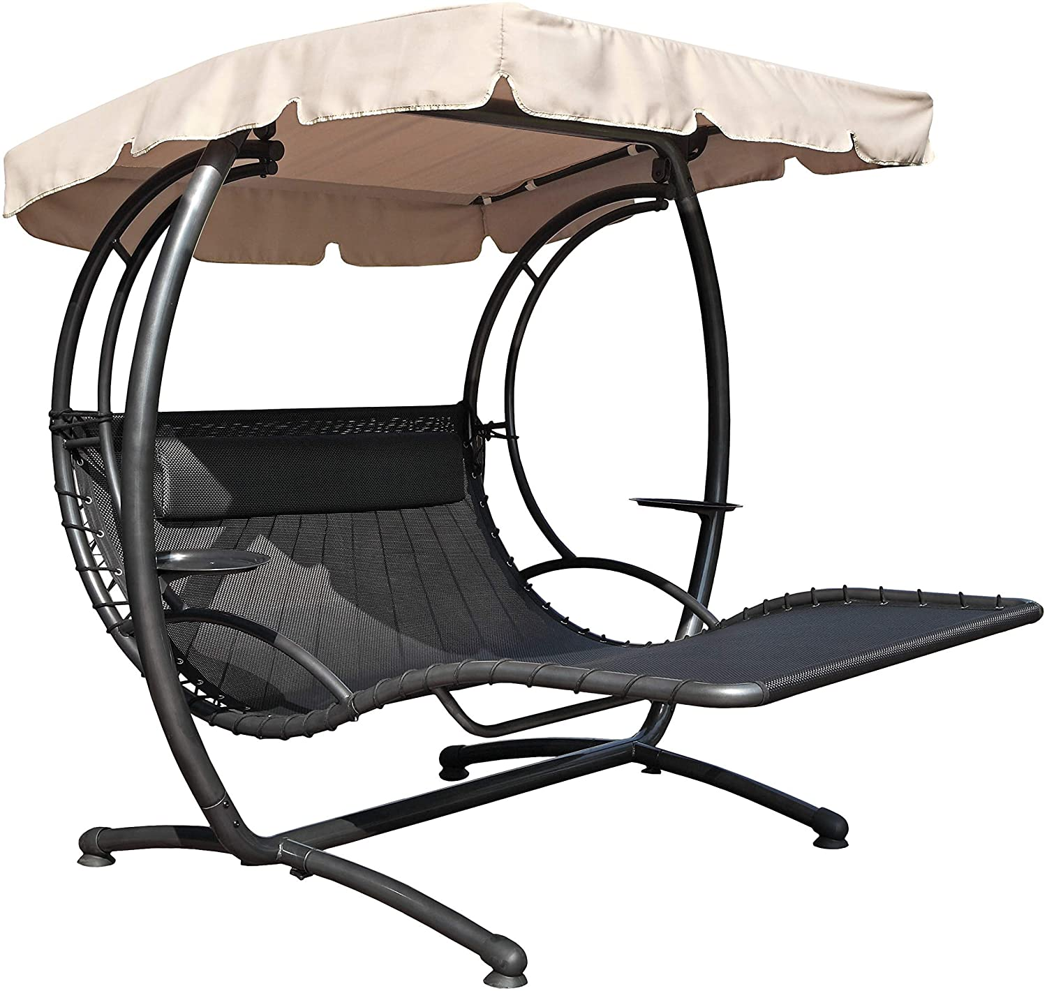 Swing Recliner 2-Seater hanging chaise double