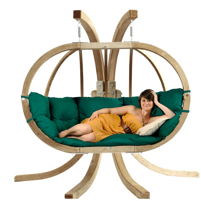 Double-Swing-Chair-Wooden-Luxury-With-Stand-Globo-Double-Thick-Cushion-for-Indoors-and-Outdoors