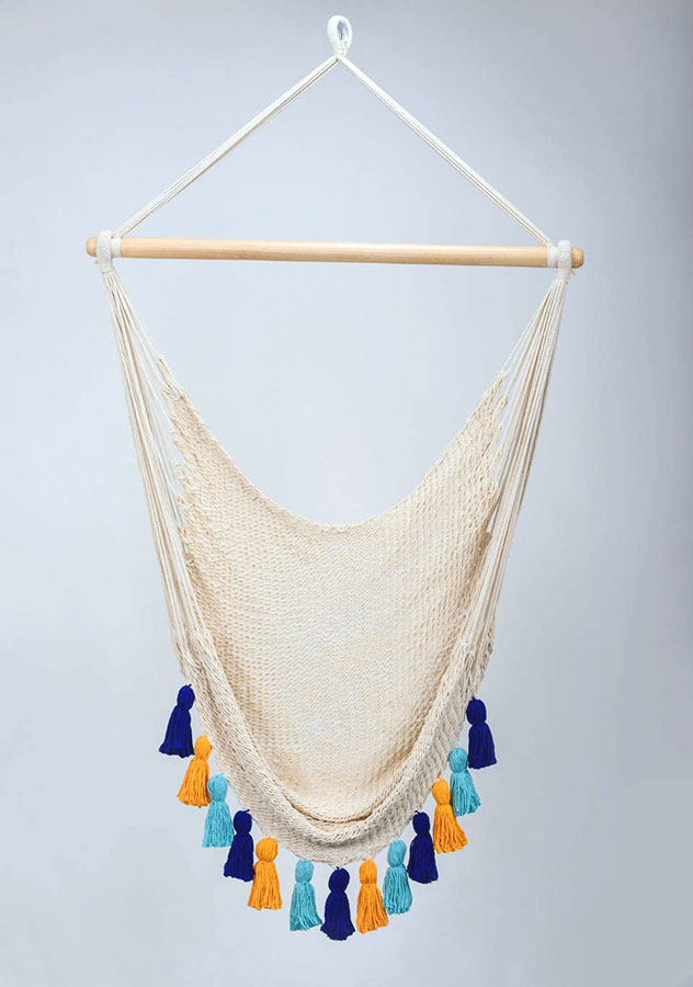 handmade-indoor-hammock-chair-macrame-swing-artisanos