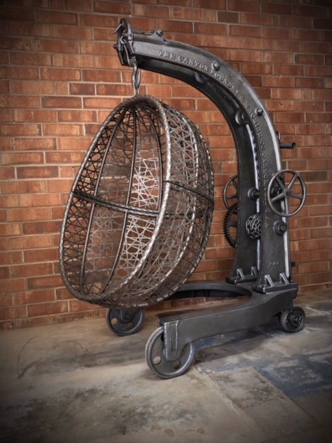 rustic-hanging-egg-chair-with-stand-industrial-rustic-style