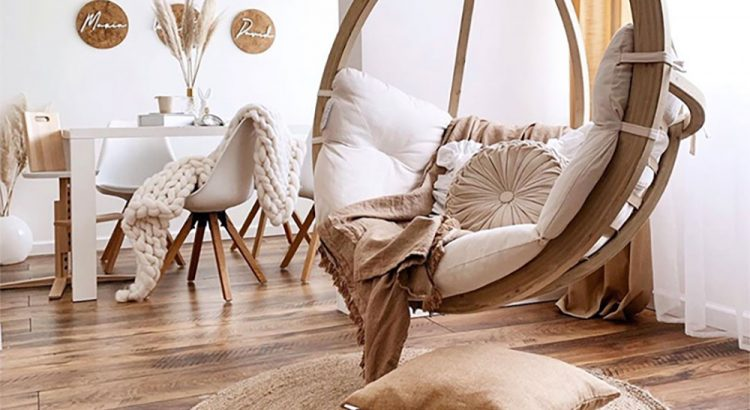 Indoor-Globo-Swing-Chair-Home-Décor-with-Natural-Tones