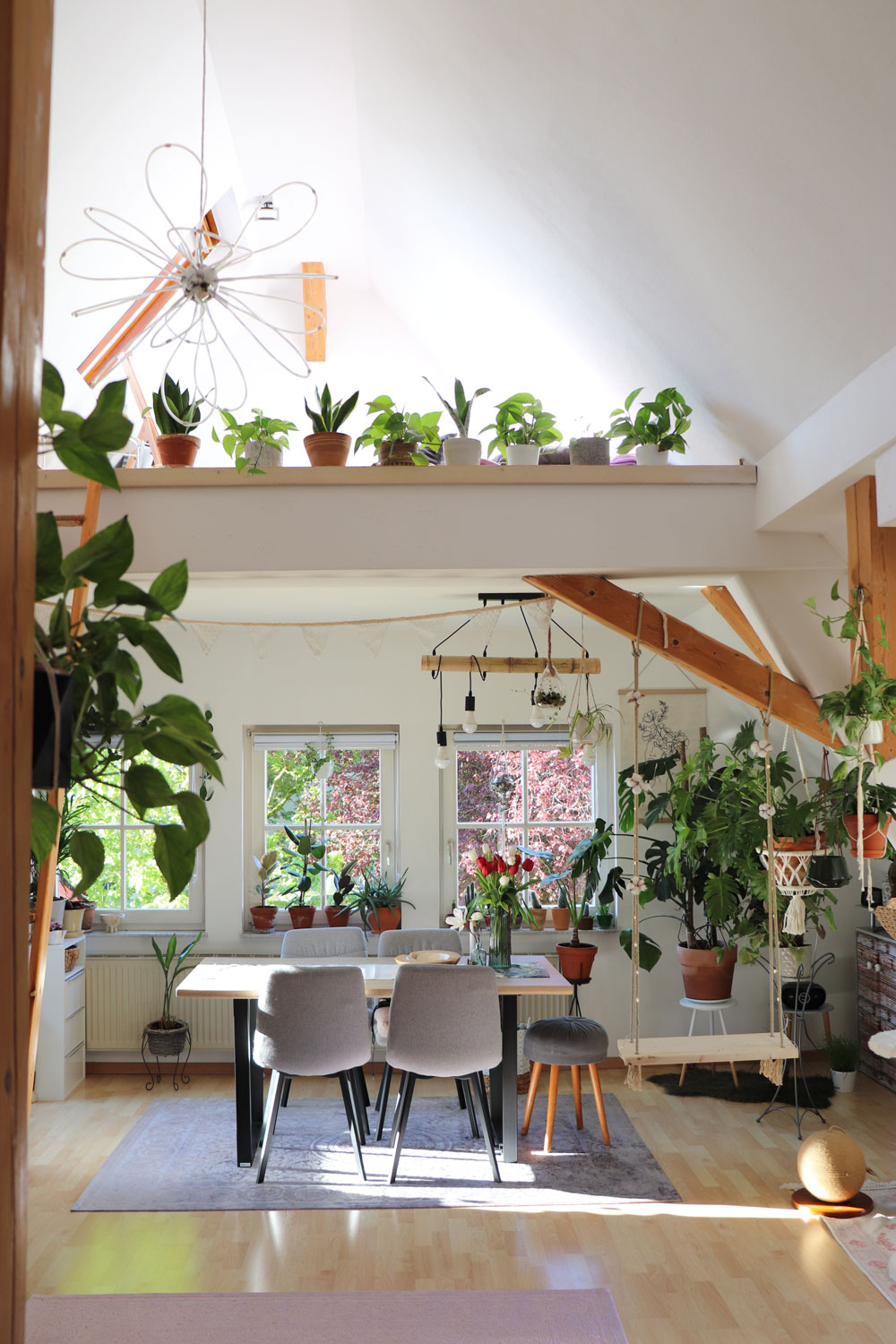 Kristinas-loft-apartment-living-room-with-more-than-130-plants