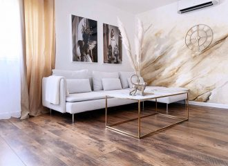 White-And-Gold-Wall-Mural-for-Modern-Decor-Style--Valentinas-house-tour-submission