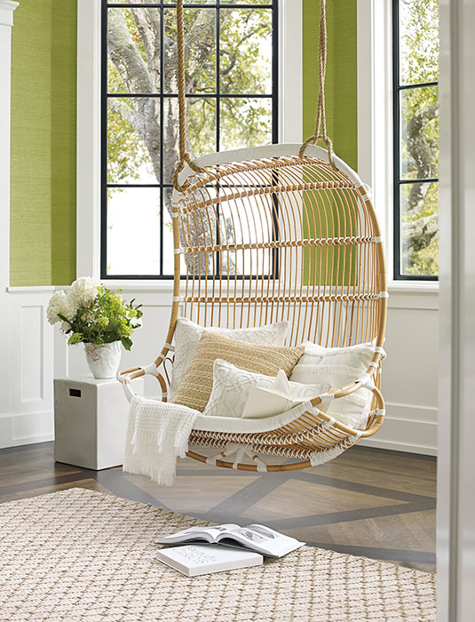 Double-hanging-rattan-chair-living-room