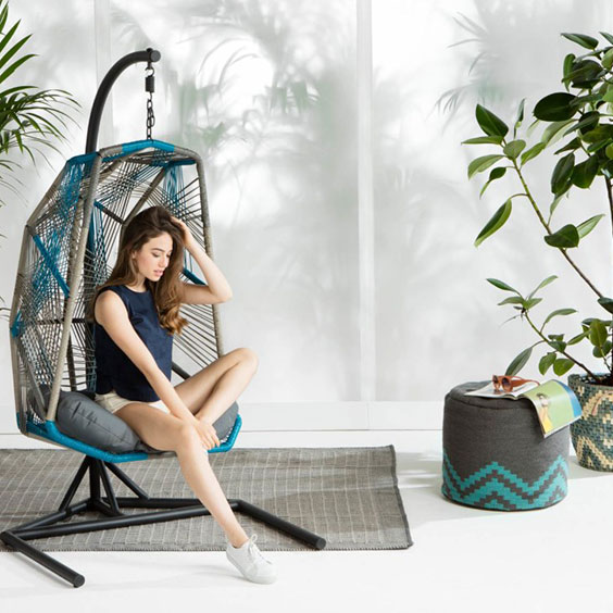 cool-blue-hanging-chair-with-stand-by-made