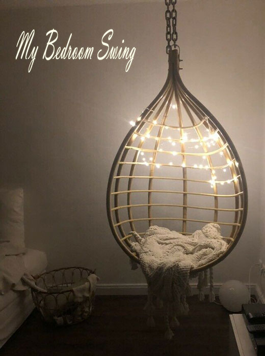 romantic-tear-dropp-basket-chair-egg-swing-with-lights-and-blanket-bedroom