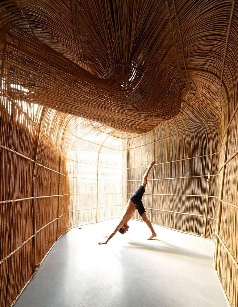 Vikasa's new Bangkok yoga studio. Photography: Ed Sumner/Vikasa