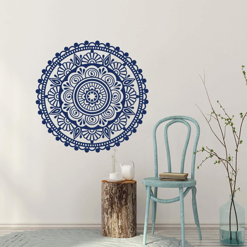Mandala Yoga Wall Decor Ornament Mehndi